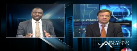 Ebbe Hamilton on CNBC Africa