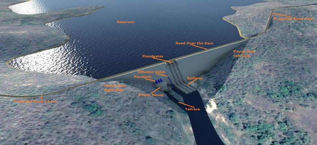 Picture of Pavua Dam